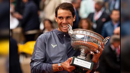 Rafael Nadal berhasil menjadi juara French Open 2019 - INDOSPORT