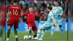 Indosport - Portugal vs Belanda di Final UEFA Nations League 2019.