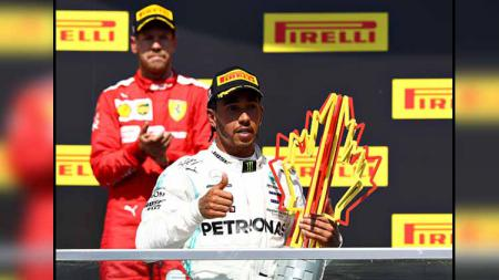Lewis Hamilton, Juara GP F1 Kanada 2019 - INDOSPORT