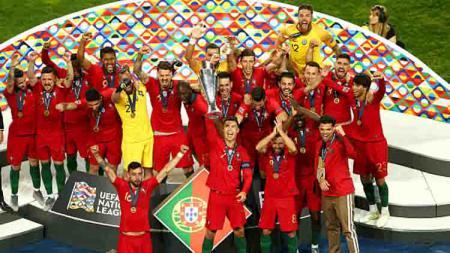 Portugal Juara UEFA Nations League - INDOSPORT