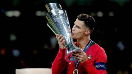Raihan trofi Cristiano Ronaldo musim 2018/19 ini masih kalah dengan tandemnya, Bernardo Silva. - INDOSPORT