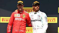 Lewis Hamilton mengkritik timnya sendiri, Mercedes, lantaran belum puas dengan pengembangan mesin musim 2019 ini. Mark Thompson/Getty Images.
