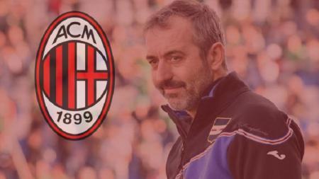 Marco Giampaolo dirumorkan jadi pelatih AC Milan musim depan. - INDOSPORT