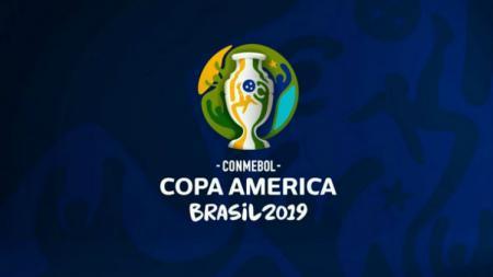 Logo Copa America 2019 di Brasil. - INDOSPORT