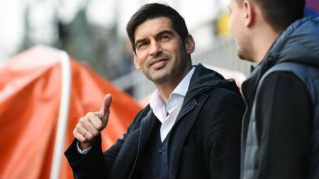 Paulo Fonseca menyebutkan dua kabar bahagia bagi AS Roma jelang laga Liga Europa lawan CSKA Sofia. - INDOSPORT