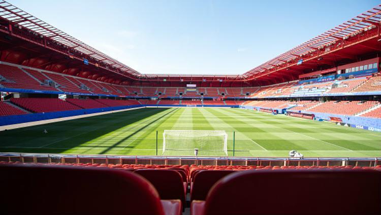 Stade du Hainaut, venue Piala Dunia Wanita 2019. Copyright: Sebastian Gollnow/picture alliance via Getty Images