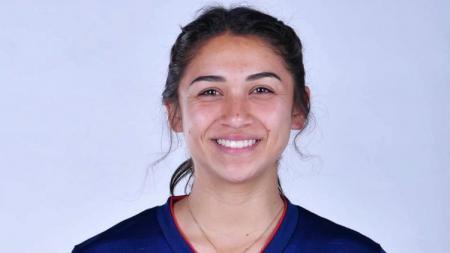 Miranda Nild, pemain sepak bola wanita Timnas Thailand. - INDOSPORT