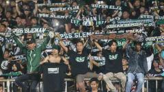 Indosport - Pendukung setia PSS Sleman, Brigata Curva Sud sudah diperbolehkan mengisi tirbun selatan Stadion Maguwoharjo.