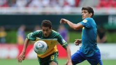 Indosport - Mitch Cooper saat memperkuat Australia melawan Brasil di Piala Dunia U-17 2011.