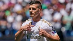 Indosport - Luka Jovic, pemain anyar Real Madrid yang jadi target AC Milan.