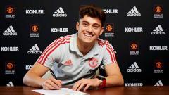 Indosport - Daniel James menandatangani kontrak selama 5 tahun bersama Manchester United.