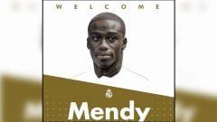 Indosport - Ferland Mendy resmi direkrut Real Madrid.