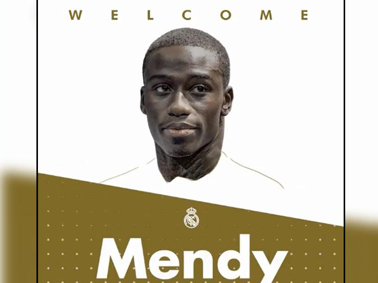 Ferland Mendy resmi direkrut Real Madrid Copyright: Twitter Real Madrid