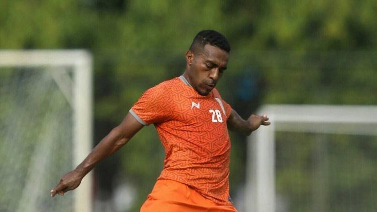 Terens Puhirin, pemain sayap Borneo FC di Liga 1 Indonesia Copyright: Borneo FC