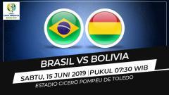 Indosport - Prediksi Brasil vs Bolivia.