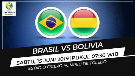 Prediksi Brasil vs Bolivia. - INDOSPORT