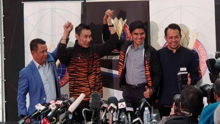 Mundurnya Lee Chong Wei sebagai pelatih turut dikomentari sosok pelatih sekaligus legenda bulutangkis Indonesia, Hendrawan. - INDOSPORT