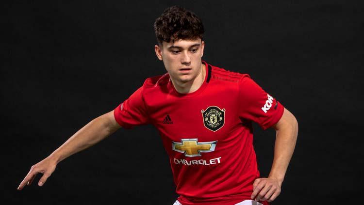 Daniel James rekrutan anyar Man United Copyright: Manchester United/Man Utd via Getty Images