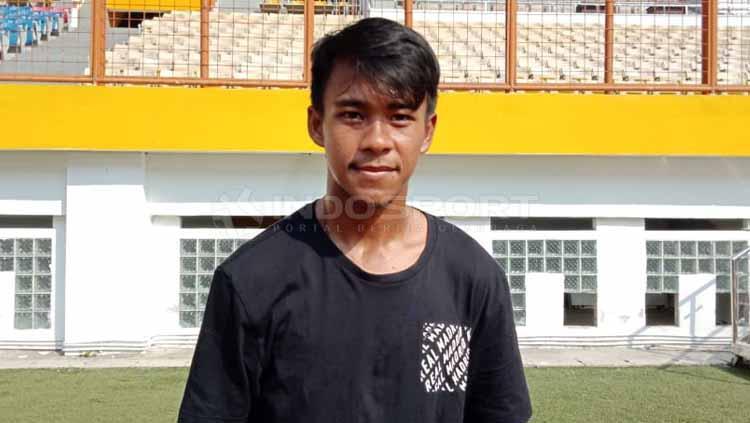 Sayap kiri Timnas Indonesia U-19, Muhammad Supriadi. Copyright: Shintya Anya Maharani/INDOSPORT
