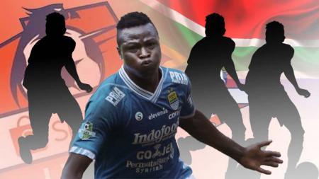 4 pemain asing Afrika dengan harga bombastis di Liga 1 2019, striker Persib termahal. - INDOSPORT