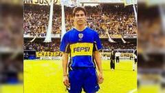 Indosport - Gustavo Chena, mantan pemain Boca Juniors dan Persija.