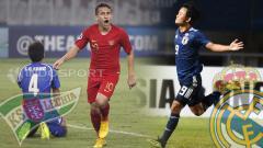 Indosport - Egy Maulana Vikri di Lechia Gdansk vs Messi Jepang, Takefusa Kubo resmi gabung Real Madrid. (Foto: INDOSPORT)