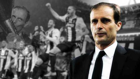 Juventus patut waspada, Massimiliano Allegri bisa gabung rival Serie A Liga Italia, AS Roma. - INDOSPORT