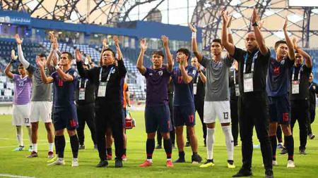 Timnas Thailand berada di Grup G Kualifikasi Piala Dunia 2022. Matthew Ashton - AMA/Getty Images. - INDOSPORT