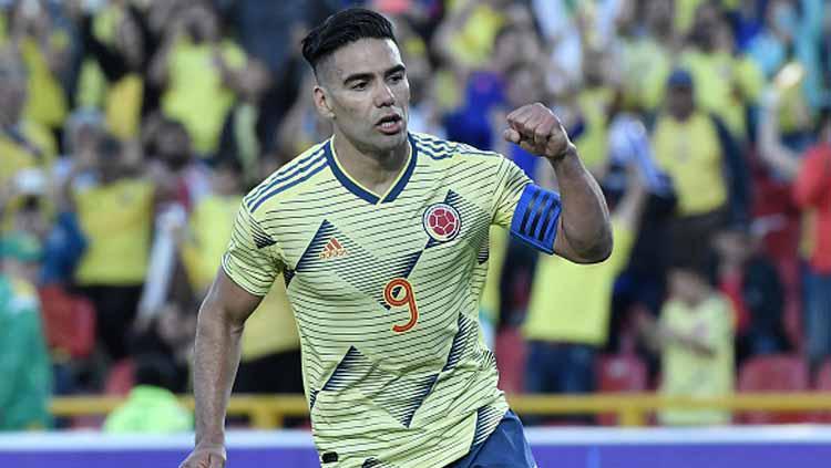 Radamel Falcao, kapten Timnas Kolombia Copyright: Gabriel Aponte/GettyImages