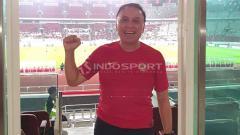 Indosport - Komjen Pol M Iriawan Tonton Laga Timnas Indonesia vs Vanuatu. Foto: Zainal Hasan/INDOSPORT