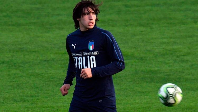 Sandro Tonali, gelandang Brescia. Copyright: Sportsnet