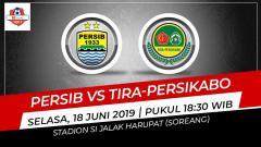 Indosport - Pertandingan Persib Bandung vs Tira-Persikabo. Grafis: Eli/Indosport.com