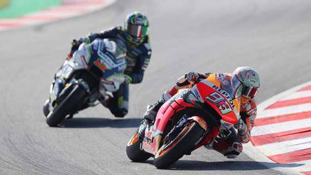 Marc Marquez di MotoGP Catalunya, Minggu (16/06/2019). - INDOSPORT
