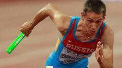 Indosport - Artyom Denmukhametov, pelari Rusia yang terkena hukuman karena kerja sama dengan pelatih yang diskors.