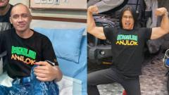 Indosport - Agung Hercules sempat jadi binaragawan dan sekarang sakit kanker otak. (Foto: Instagram @agunghercules88)