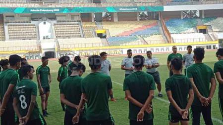 Seleksi pemain Timnas Indonesia U-19 tahun 2019 lalu. - INDOSPORT
