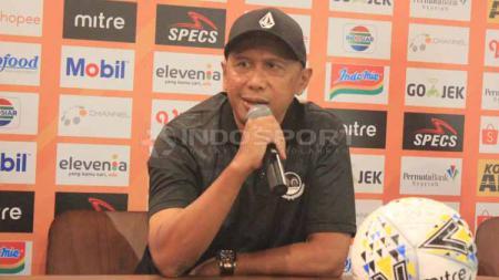 Pelatih PS Tira Persikabo, Rahmad Darmawan mengaku performa skuatnya tidak seperti yang ia inginkan saat menghadapi PSS Sleman. - INDOSPORT