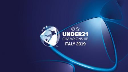 Logo Euro U-21 2019. - INDOSPORT