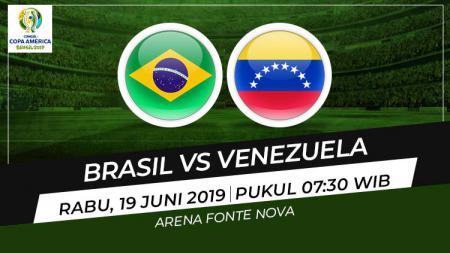 Prediksi Brasil vs Venezuela - INDOSPORT