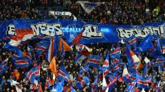 Indosport - Ilustrasi penggemar Glasgow Rangers.