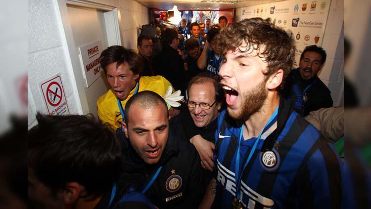 Eks pemain Inter Milan Marek Kysale (kanan). Copyright: Julian Finney/Getty Images