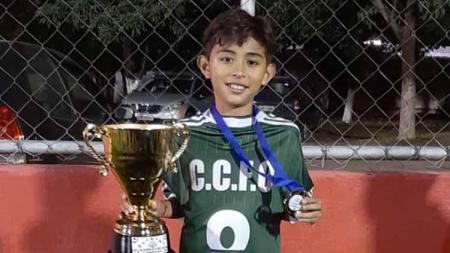 Welberlieskott de Halim Jardim, wonderkid Indonesia yang berhasil meraih gelar juara di Brasil. - INDOSPORT