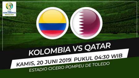 Setelah mengalahkan Argentina di laga pertama, Kolombia akan berhadapan dengan tim kuda hitam Qatar di Copa America 2019, Kamis (20/06/19). - INDOSPORT