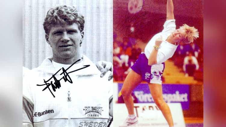 Par-Gunnar Jonsson dan Maria Bengtsson Copyright: sporthistoria.se