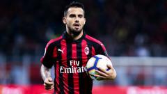 Indosport - Suso dalam pertandingan AC Milan vs Lazio.