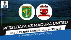 Indosport - Persebaya Surabaya vs Madura United di Kratingdaeng Piala Indonesia.