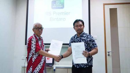 Persija Jakarta jalin kerja Sama dengan RS Sport Medicine. - INDOSPORT