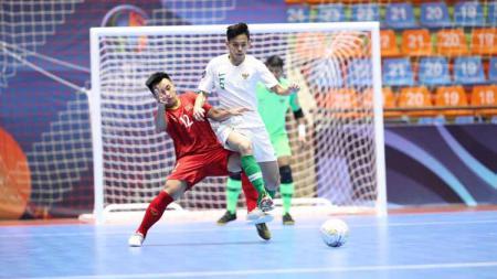 Timnas Futsal Indonesia melawan Timnas Futsal Vietnam. Foto: Ical/FFI - INDOSPORT