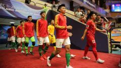 Indosport - Link live streaming pertandingan Afghanistan vs Timnas Indonesia pada semifinal Piala AFC U-20 Futsal 2019, Kamis (20/06/19), di Tabriz, Iran pukul 17.45 WIB.