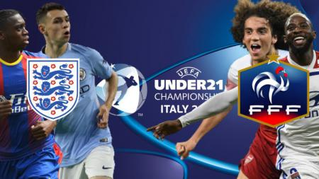 7 Wonderkid yang akan tampil dalam pertandingan Euro U-21 2019 antara Inggris vs Prancis. (Foto: UEFA.com/INDOSPORT) - INDOSPORT